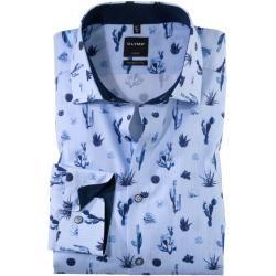 Photo of Olymp Luxor Hemd, modern fit, Global Kent, Bleu, 45 Olymp