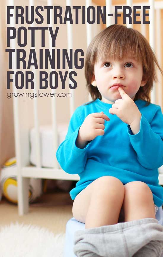 how to potty train a difficult boy