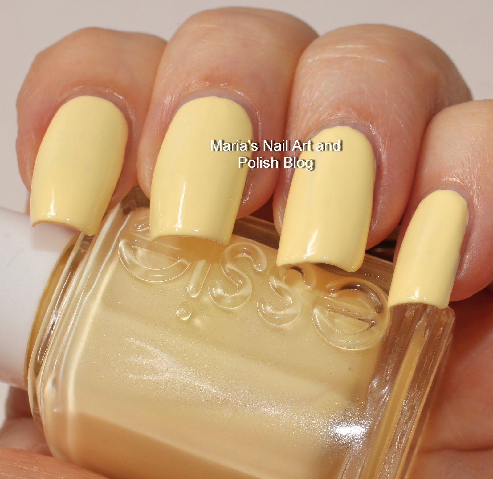Marias Nail Art and Polish Blog: Essie Barbuda Banana swatches ...
