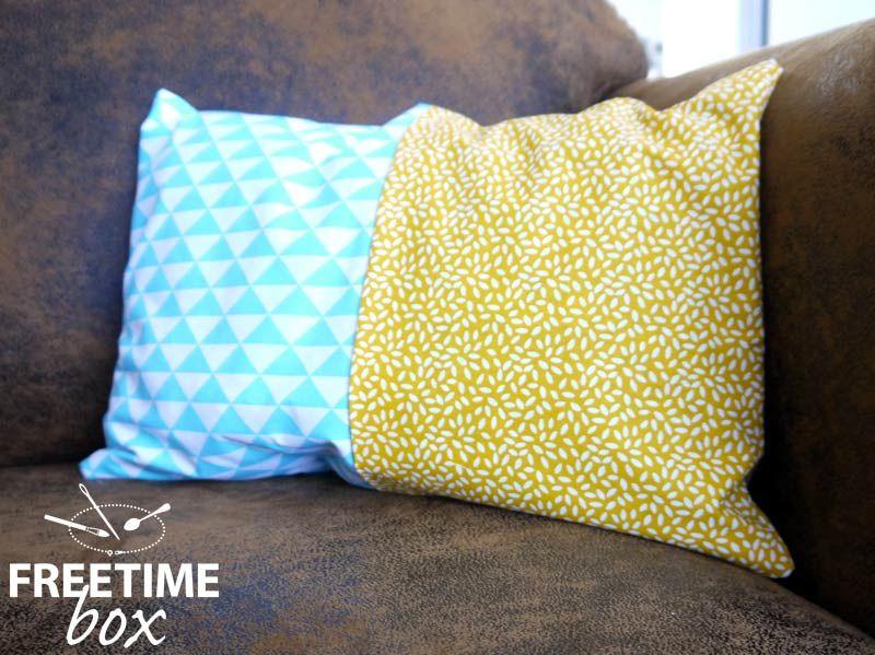 tuto diy r aliser une housse de coussin sans couture ou presque box 8 juillet 2015. Black Bedroom Furniture Sets. Home Design Ideas