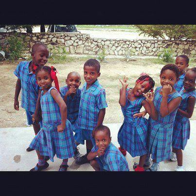 Having fun with education in Haiti