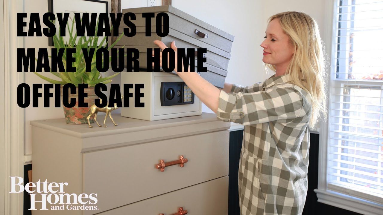 Easy Ways to Make Your Home Office Safe http://bit.ly/2rzD79P