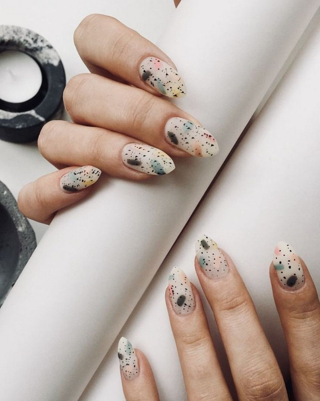 40 Outstanding Nail Designs Ideas For Spring Winter Summer And