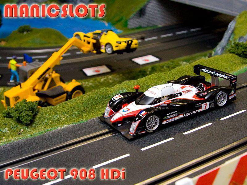Review Scalex Peugeot 908 Slot Car Racing Slot Cars Peugeot