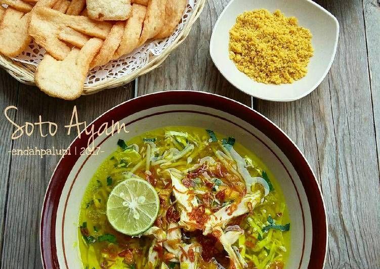 Resep Soto Ayam Oleh Endah Palupi Resep Resep Ayam Daging Kambing