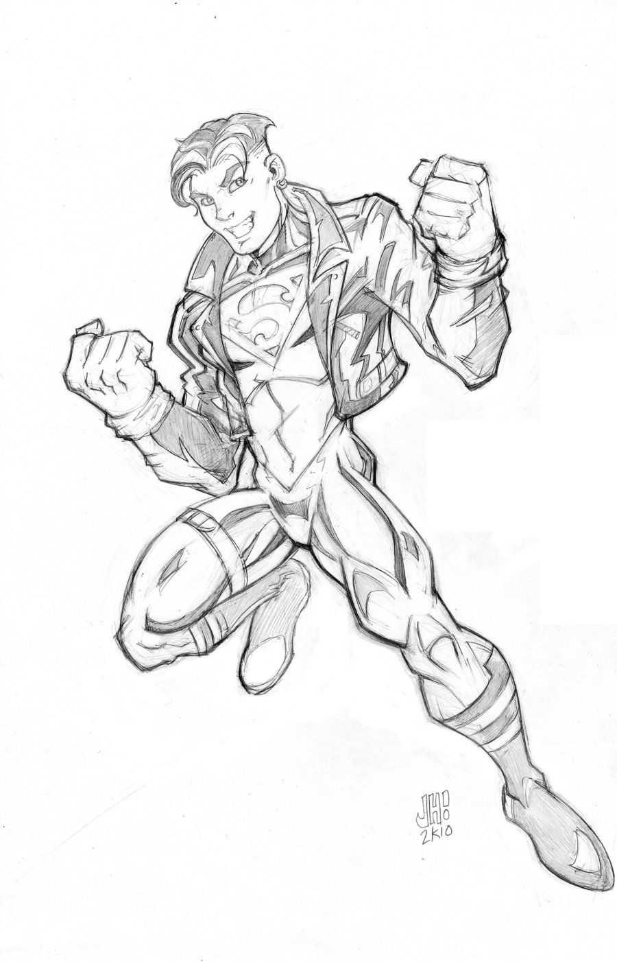 Superboy Young Justice Style By Diecast75