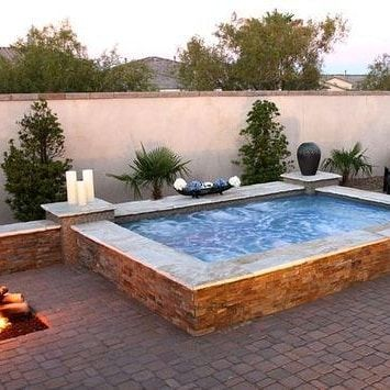 Cocktail pool is becoming the next cool project for the DIYer