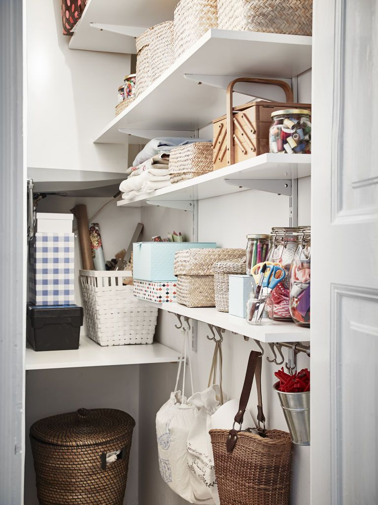 Perfectly organized clutter