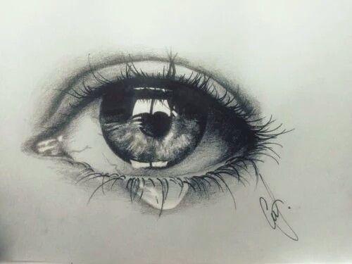 Lacrima Tears Disegno Occhi Disegno Ragazze E Disegno Arte