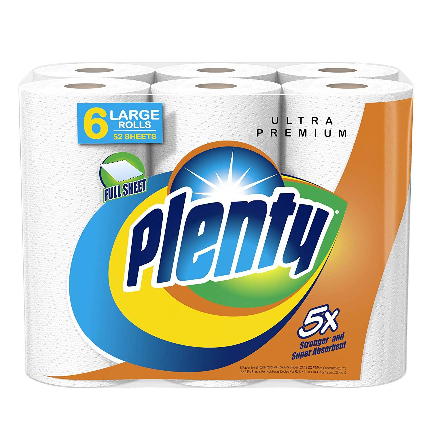 FREE Plenty Paper Towels Sample (apply to test) LINK HERE
