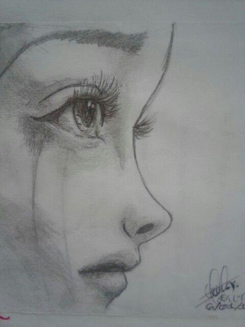 Dibujo A Lapiz Cry Dibujos Tristes Dibujos Tristes A Lapiz