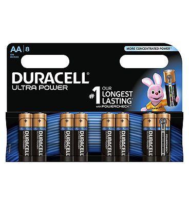 Duracell Ultra Power Aa Alkaline Batteries 8x 32 Advantage Card Points Duracell Ultra Alkaline Aa Batteries Pack Of It Duracell Alkaline Battery Batteries