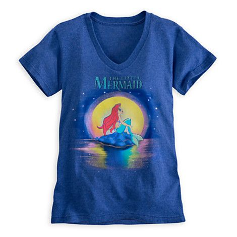 ce353003b9c The Little Mermaid Tee for Women