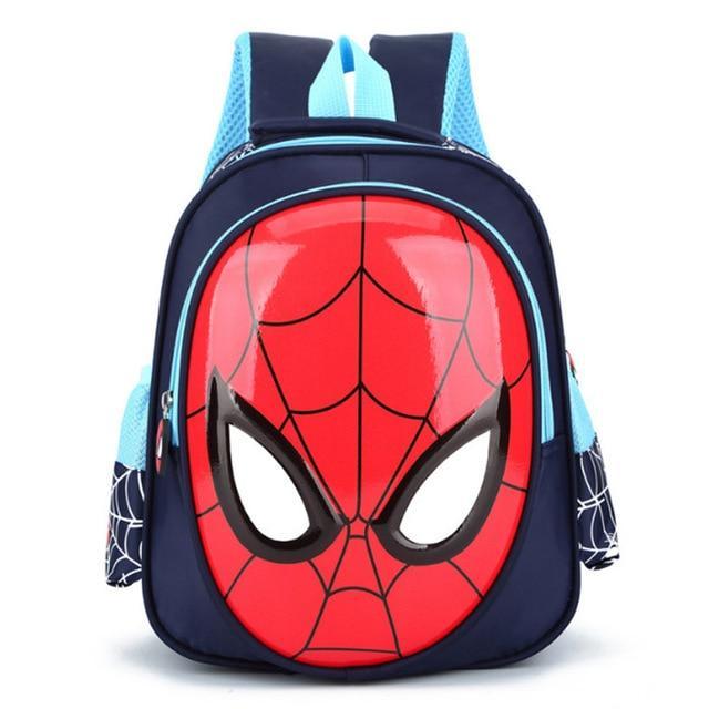 590204ccc528 3D 3-6 Year Old School Bags For Boys Waterproof Backpacks Child Spiderman  Book bag Kids Shoulder Bag Satchel Knapsack