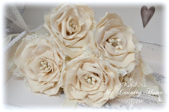rose vintage in stoffa