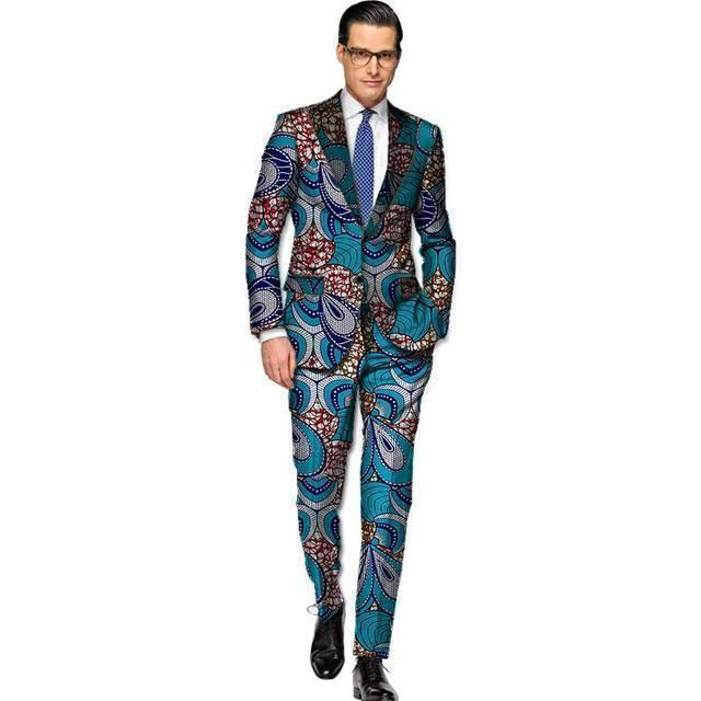 Buy African Men\'s Suits, Kitenge Dashiki Suits, African Men\'s ...