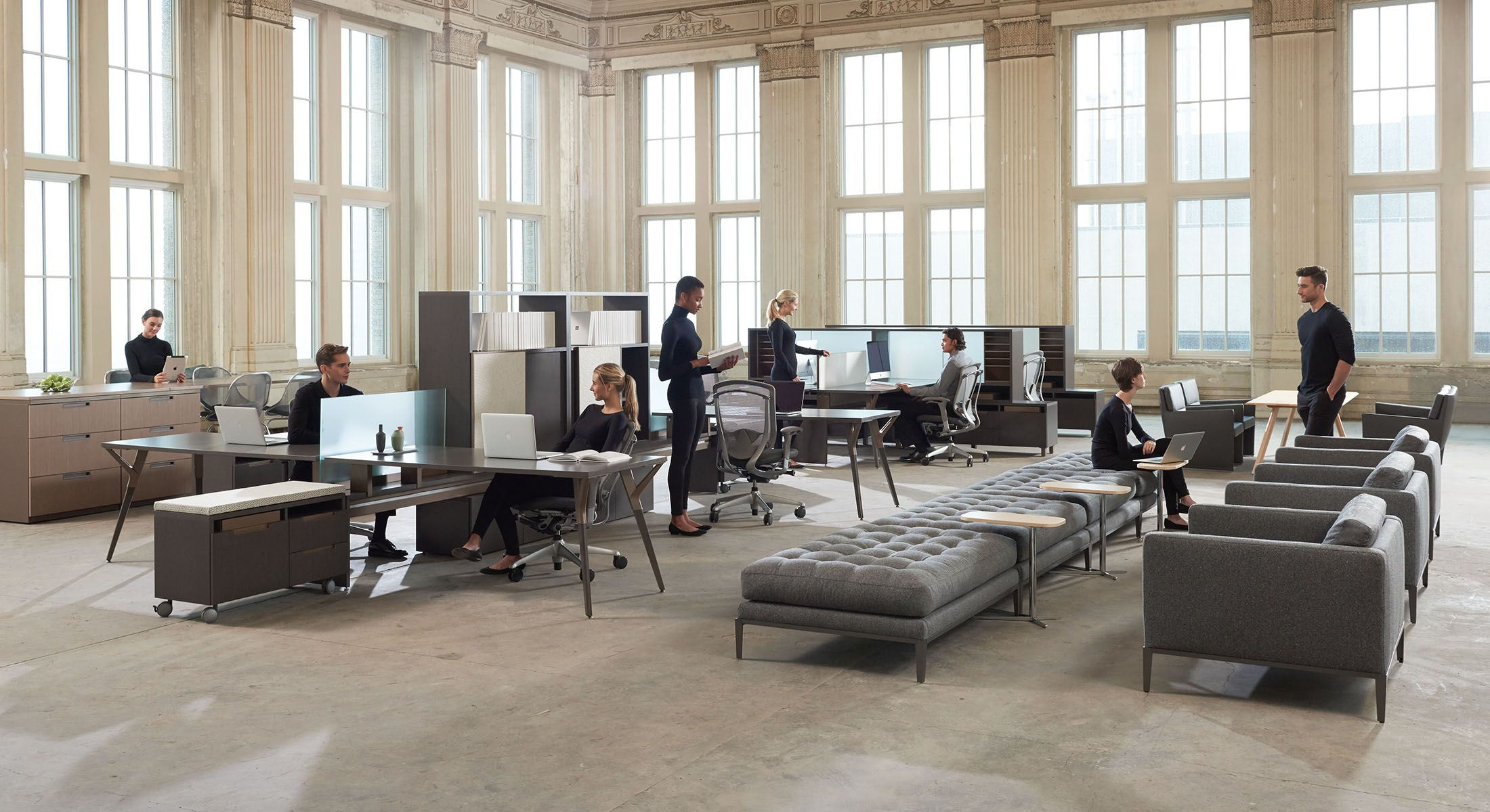 The Century Office Modern Or Traditional In Look And Feel Is A Place Defined By Creativity Mobility Collaboration Enabled Technology Made More