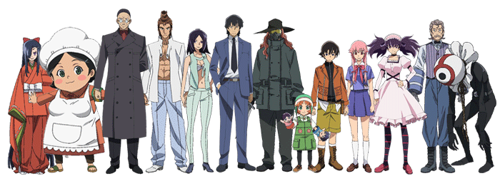 Contestants In Mirai Nikki Mirainikki