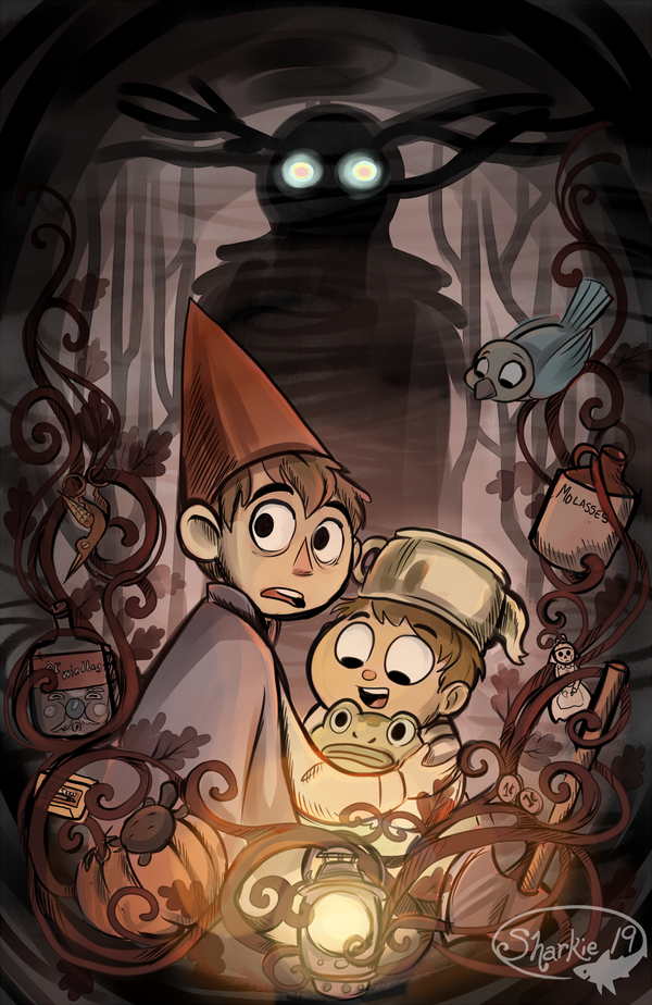 Spoilers Over The Garden Wall By Sharkie19 On Deviantart