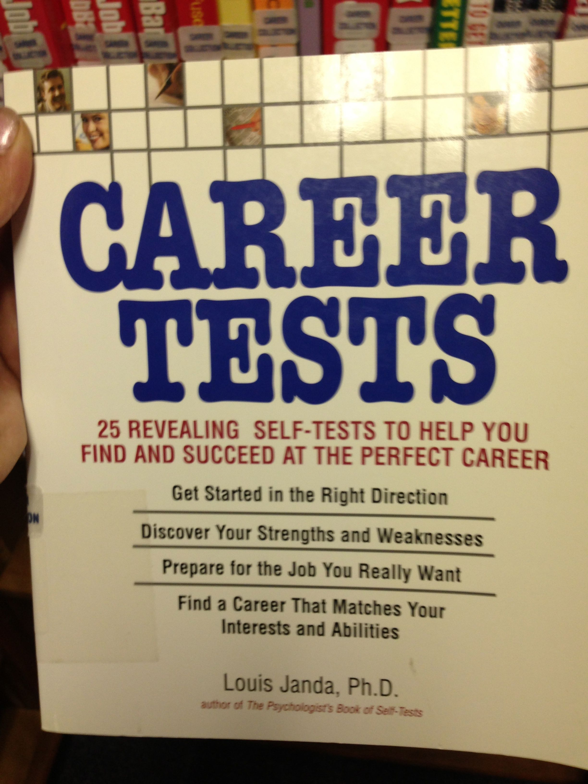 Career Tests   Sample  Career Tests