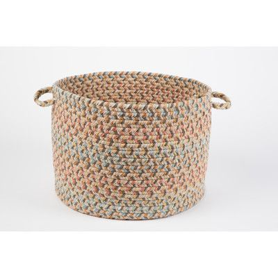 Wildon Home  Brenda  Basket Color: Earth Beige