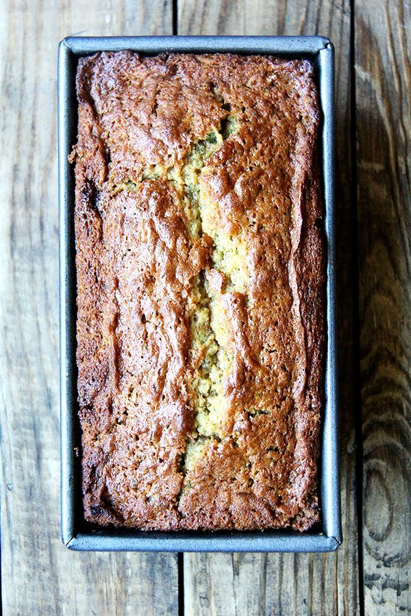 Best Zucchini Bread A quick bread made with brown sugar and white, eggs and oil, this super moist zucchini bread makes a wonderful addition to breakfast coffee or afternoon tea all summer long. When prepared in mini loaf loaf pans, it makes a nice gift as well. I have been making this recipe for years, an oldie but …Moist  Moist describes the presence of m...