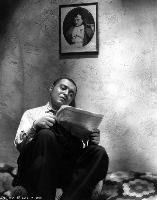 """Peter Lorre en """"Crimen y Castigo"""", 1935"""