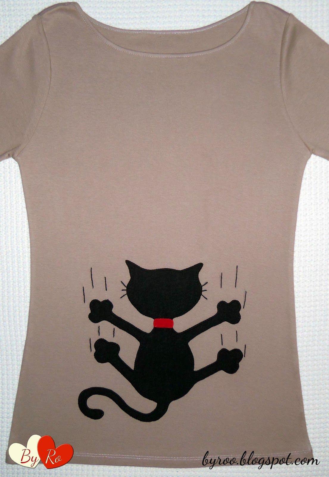 By ro camisetas patchwork animales pinteres for Aplicaciones decoradas