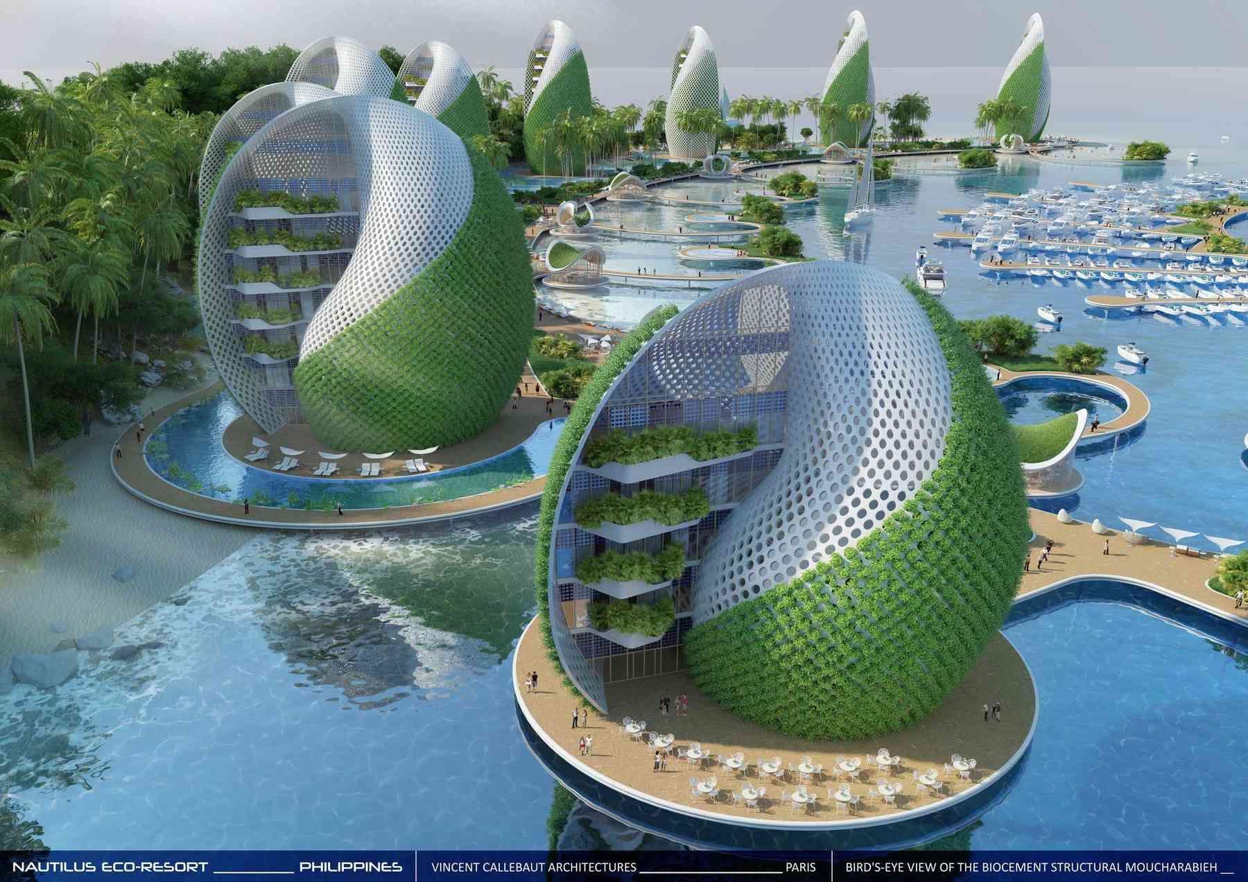 Nautilus Eco Resort By Vincent Callebaut Architectures In