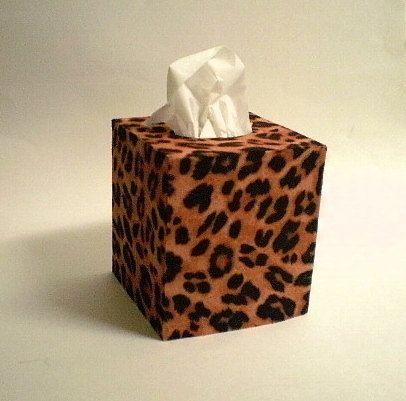 Decorative Boxes Animal Print Tissue Box Cover Decorativelauriebcreations