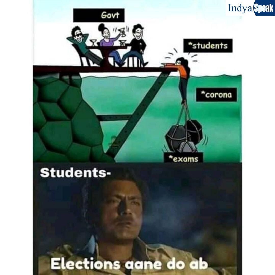 Students Election Aane Do Ab Latest Funny Jokes Fun Quotes Funny Funny Study Quotes
