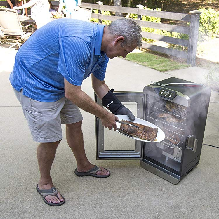 Char Broil Deluxe Digital Electric Smoker 725 Square Inch Digital Electric Smoker Best Electric Smoker Electric Smoker