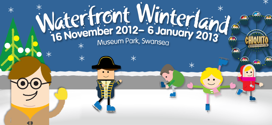 Waterfront Winterland returns to Swansea this year with two ice rinks, a fun fair and much more! Can't wait to put my ice skating skills to the test!