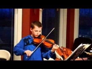Polly Wogg S 10 Year Old Cousin Felix Plays Violin Video Violin 10 Year Old Olds