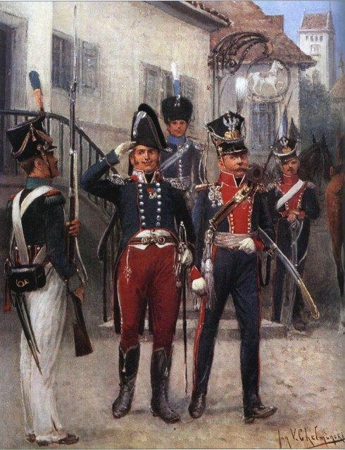 Général De Brigade (Petit Tenue) - Colonel Du 17º Du lanciers - Voltigeur. Jan Vładysław Chełmiński