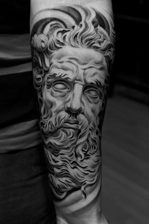 Zeus Tattoo Brunosegatto Cosas Que Adoro Tatuaje Zeus