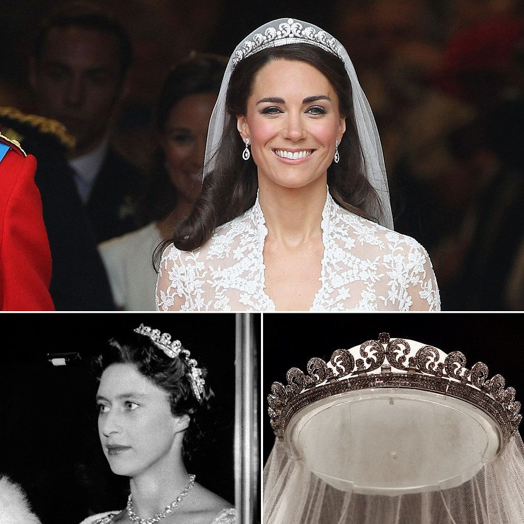 The Halo Tiara, worn by the Duchess of Cambridge and Princess Margaret.