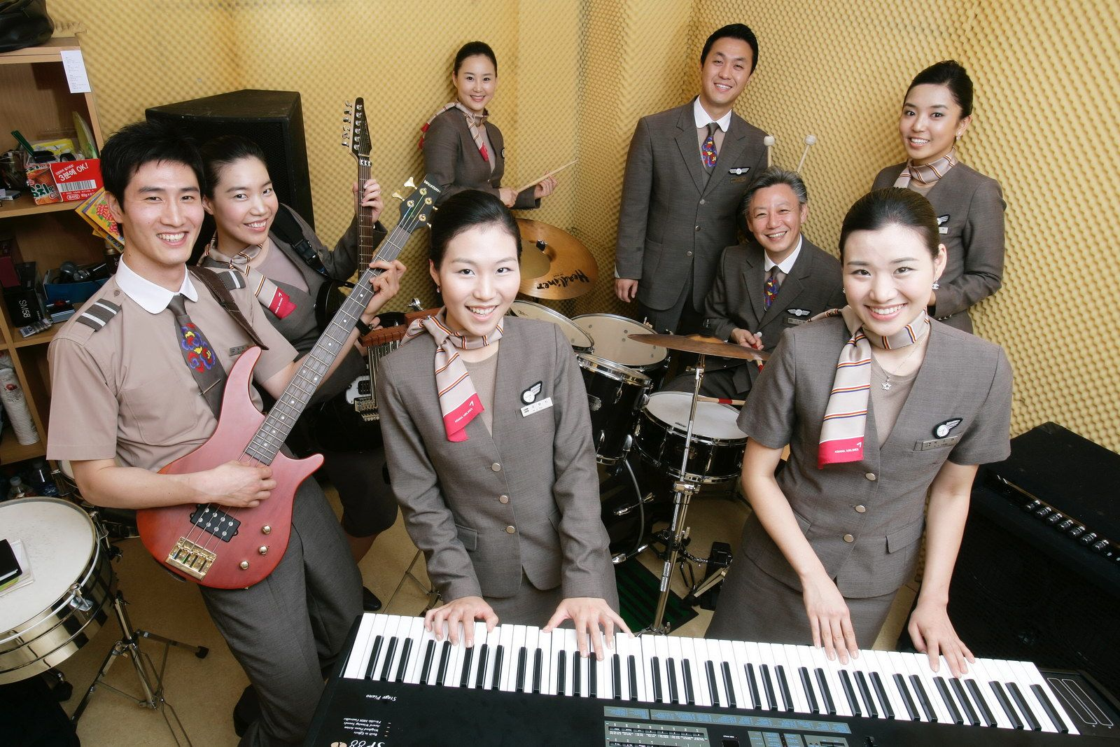 Image result for Asiana Airlines cabin crew uniform