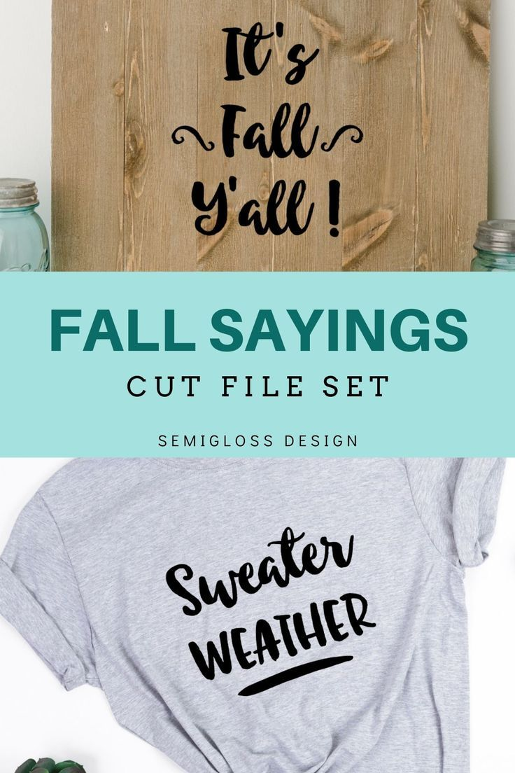 Fall Quotes and Sayings SVG Bundle Free planner pages