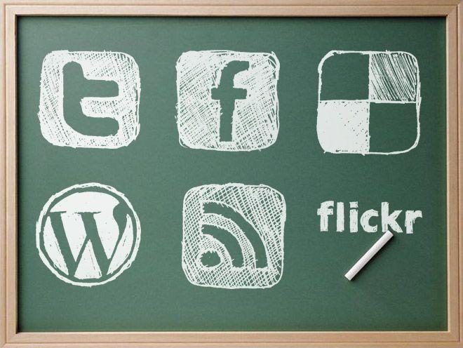 As redes sociais na educação  