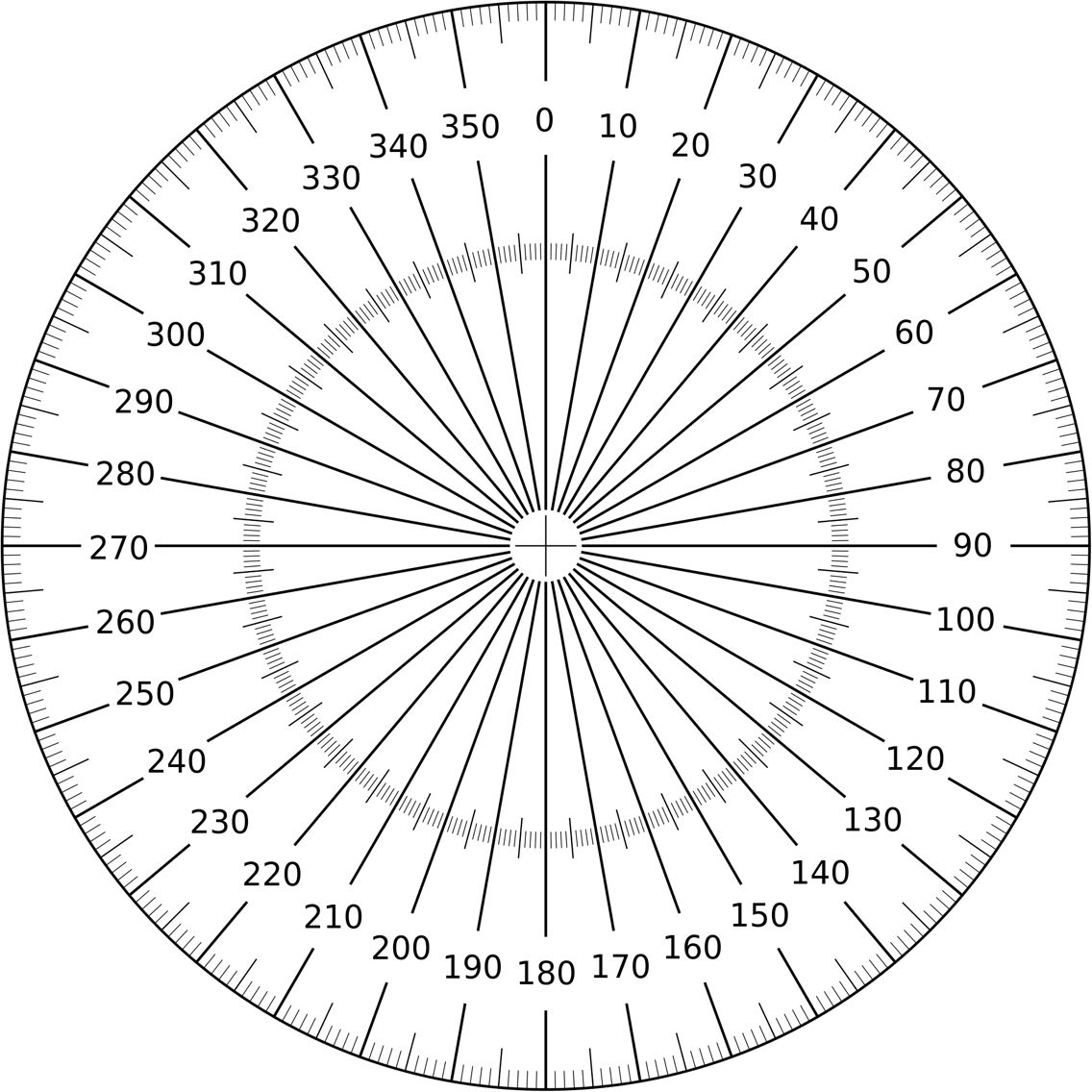 360 Protractor Protractor Machine Shop Projects Sheet Metal Fabrication