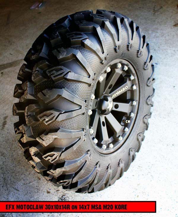 Ford Ranger All Terrain Tires: Killer New 27 & 30 Inch ATV/UTV Tires From EFX.