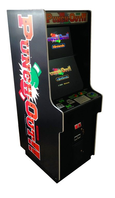 Punch Out Video Arcade Game for Sale | Stuff I can't afford ...