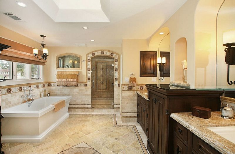 Trendy Bathroom Additions That Bring Home The Luxury Spa Prepossessing Luxury Bathroom Decorating Ideas 2018