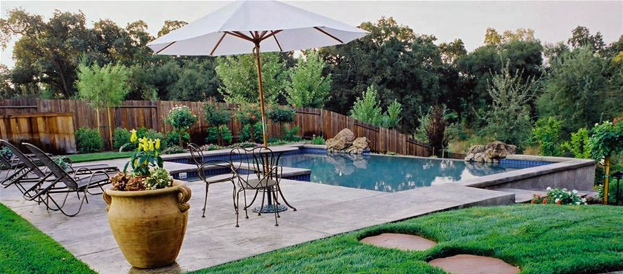 Landscape Swimming Pool In Sacramento Ca Time To Relax By The Pool And Enjoy Your Spring Weekend Sacramentopools Geremia Relax Time Pool Swimming Pools