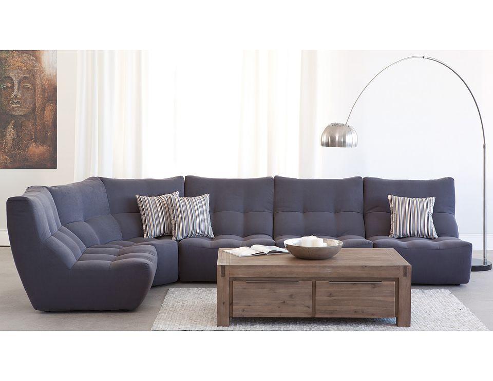Rosalie Modular Sofa Arc Floor Lamps Sectional Sofa