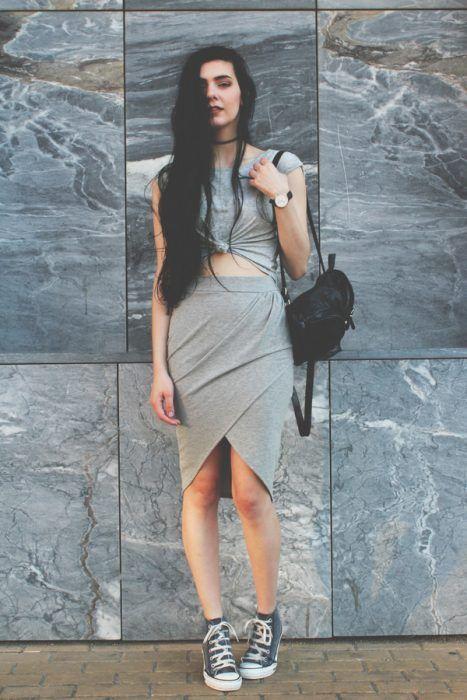 vestido converse mujer