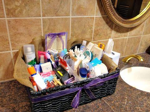 Bathroom Baskets On Http Itsabrideslife Com Bathroom Baskets Wedding Toiletry Basket Wedding Bathroom
