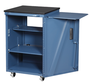Economy Media Cart™ By Datum   Storage For Audio/visual Equipment On A  Budget