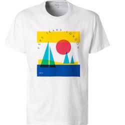 Pepe Jeans Herren T-Shirts, Loose Fit, Baumwolle, weiß Pepe Jeans
